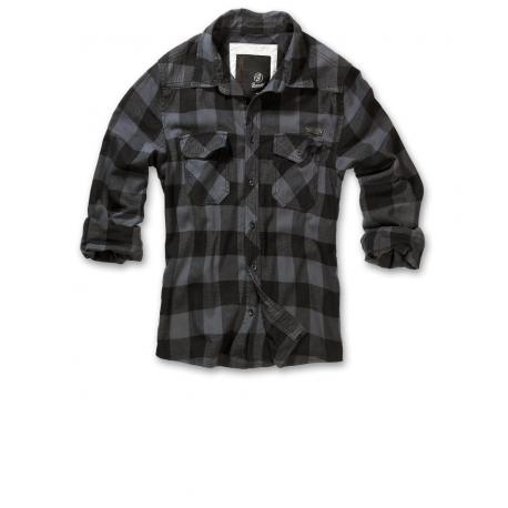 checkshirt black and grey