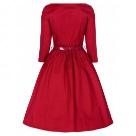 Holly dress red