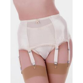 Harlow 6 strap deep suspender belt