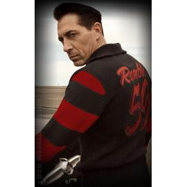 50s racing sweater moonhsine