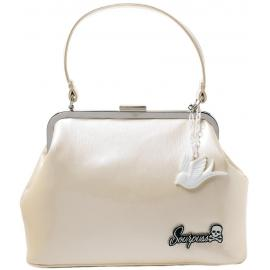 Betsy purse sparrow charm champagne