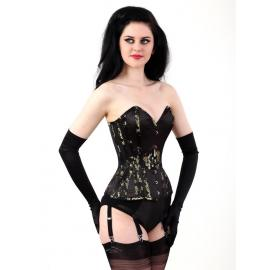 Cherry blossom laurie corset