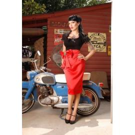 Skirt Bown red