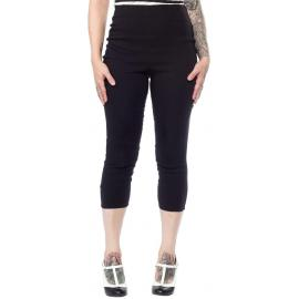 Capris sugar pie black