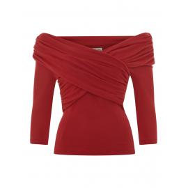 Celina Knitted top red