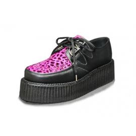 Creeper black and grainn fuxia leopard
