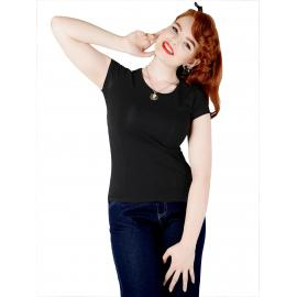 Alice plain t shirt black