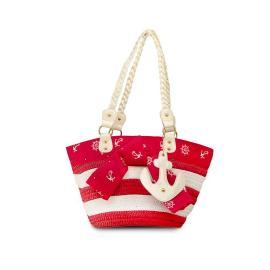 Anchors away bag red