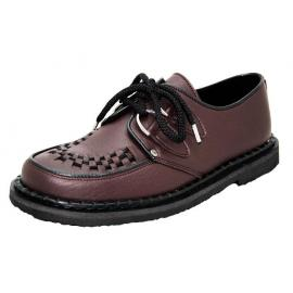 Casual creeper shoe brown vege