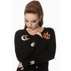 The haunted knit cardigan