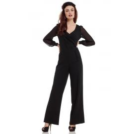 Jumpsuit black Rosemary