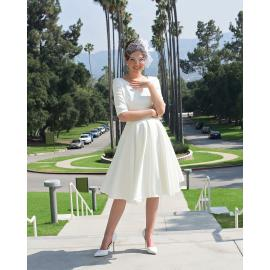 Myla dress white