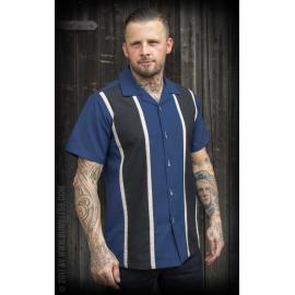 Classic Shirt Two Stripes - Moonlight Blue