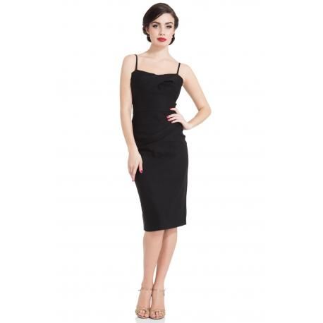 Jayne Wiggle Dress Black