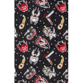 Sourpuss Friday The 13Th Rosie Scarf