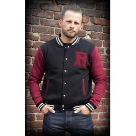Male Sweat College Jacket - R'n'R until I die