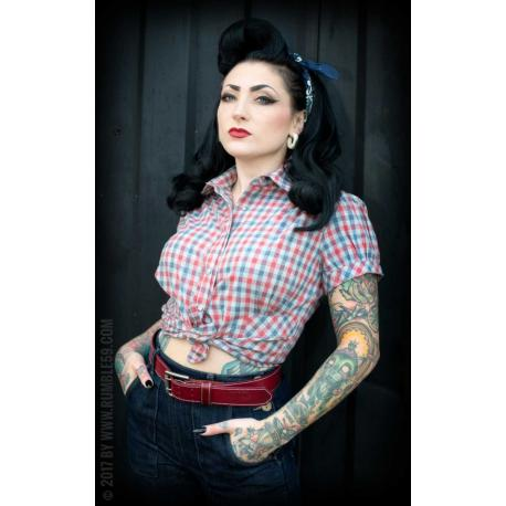 Checked Blouse Good Golly Miss Molly